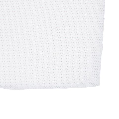 Light Pink Pin Dot Crib Sheet