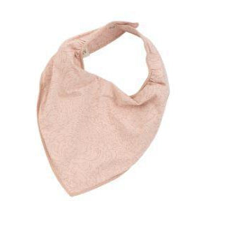 Breeze Sheer Rose Cotton Bib