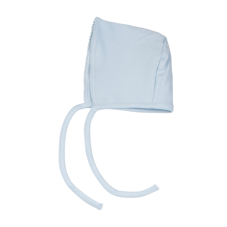 Light Blue Cotton Bonnet