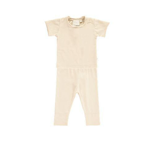 Oatmeal Rolled Edge 2 Piece Set