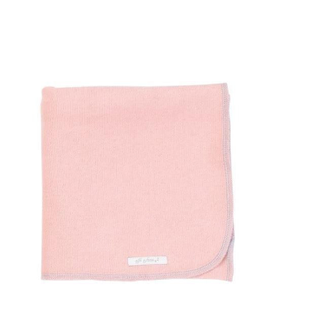 Pink Organic Cotton Blanket