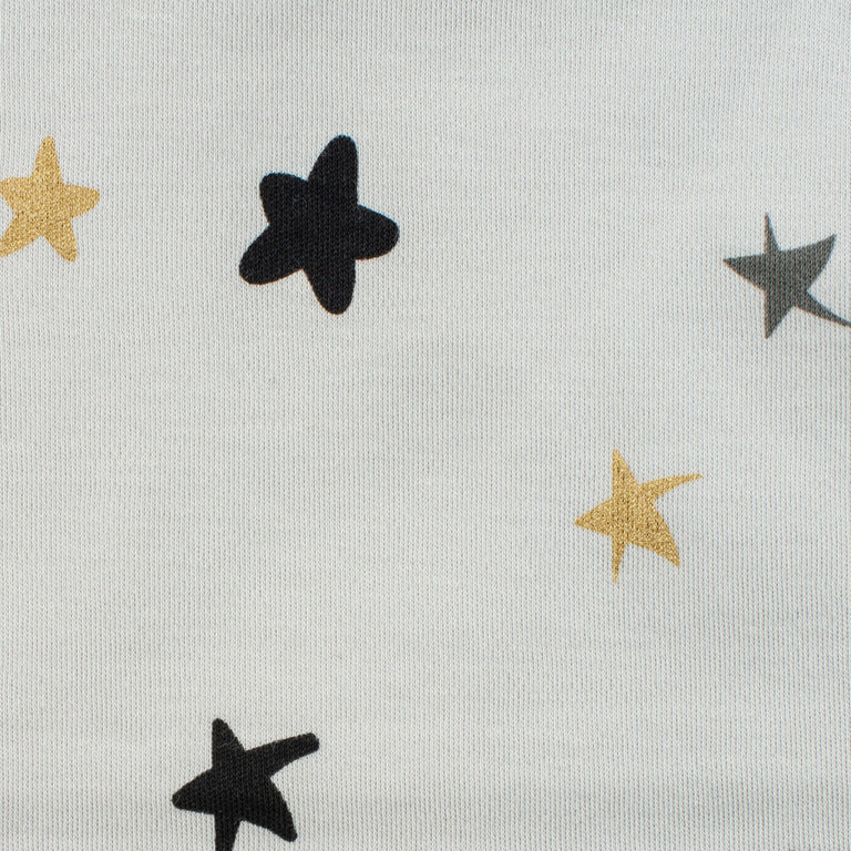 Grey Colored Stars Blanket
