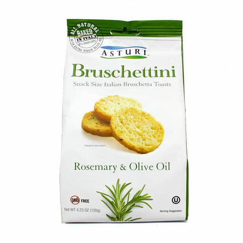 Asturi Bruschettini With Rosemary and Olive Oil 120g