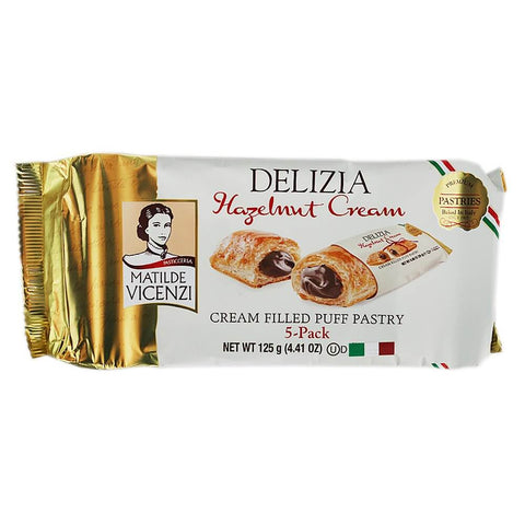 Matilde Vicenzi Delizia Hazelnut Cream (Pack of 5) 125g