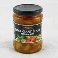 Zergut Spicy Giant Beans - Medium Hot 540g