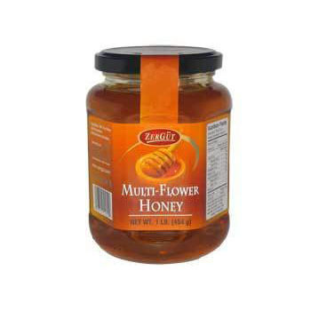Zergut Muli-Flower Honey 16oz