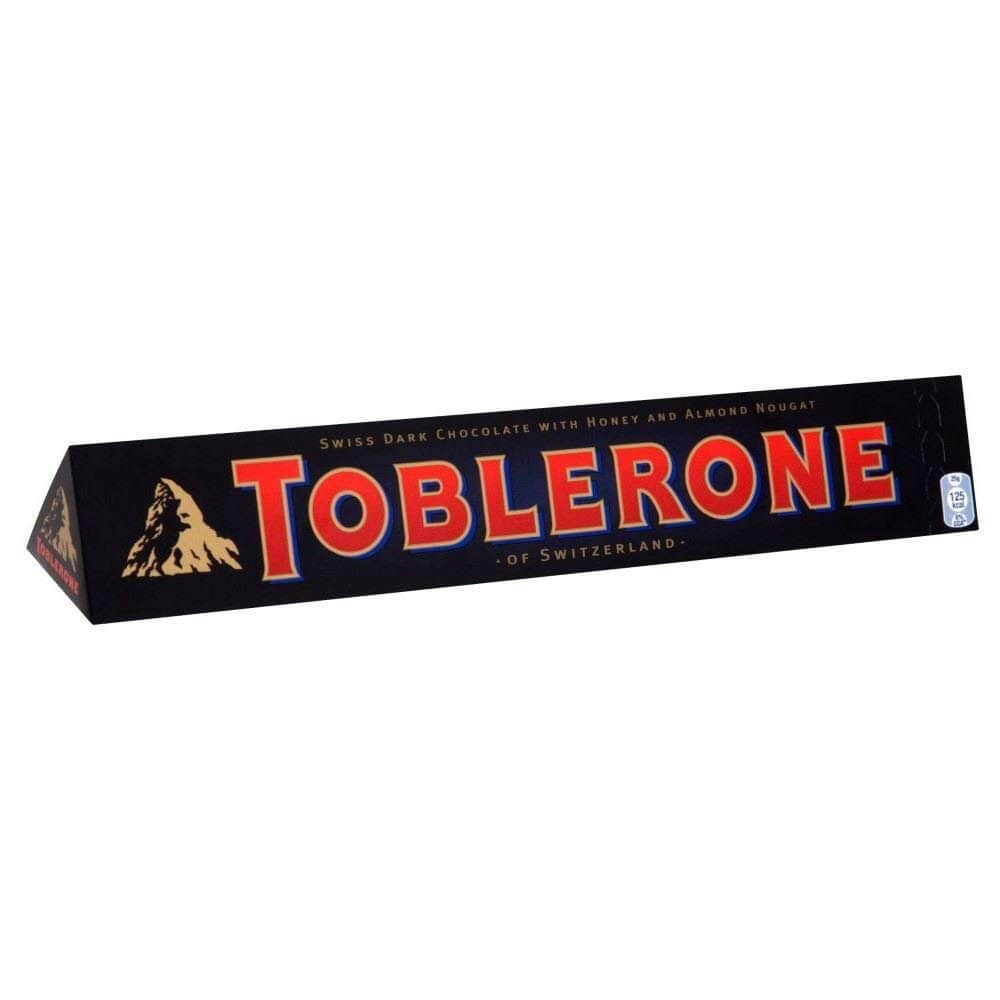 Kraft Toblerone Dark Chocolate Bar 100g