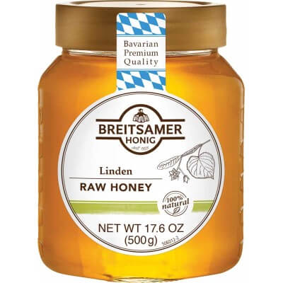 Breitsamer Honig Lime Blossom Raw Honey 500g
