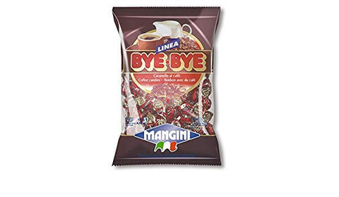 Mangini Linea Bye-Bye Coffee Candies 130g