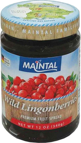 Maintal Wild Lingonberry Fruit Spread 340g