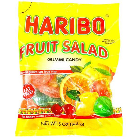 Haribo Fruit Salad Gummi Candy 142g
