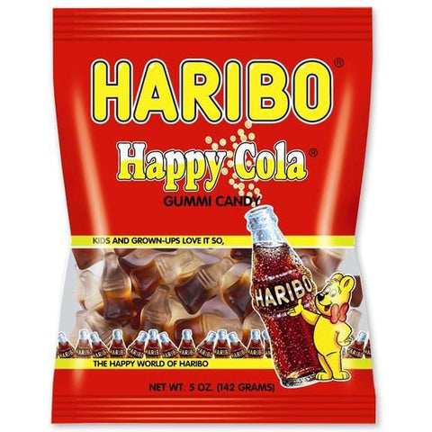 Haribo Happy Cola Gummi Candy 142g