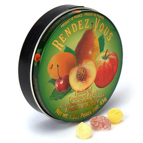 Rendezvous Natural Orchard Fruit Candy 43g