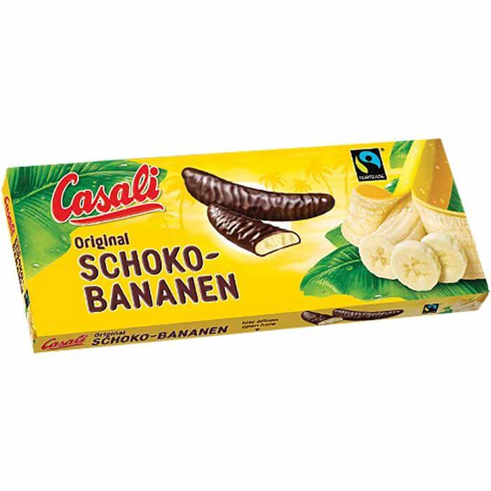 Casali Original Chocolate Covered Bananas 300g