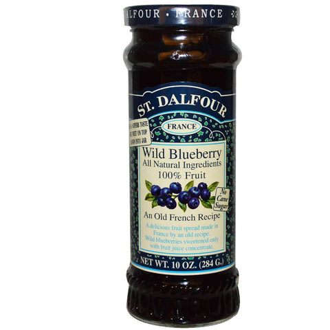 St. Dalfour Wild Blueberry Fruit Spread 284g