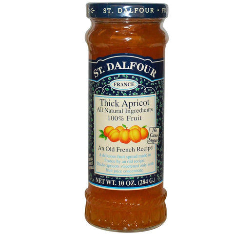 St. Dalfour Thick Apricot Fruit Spread 284g