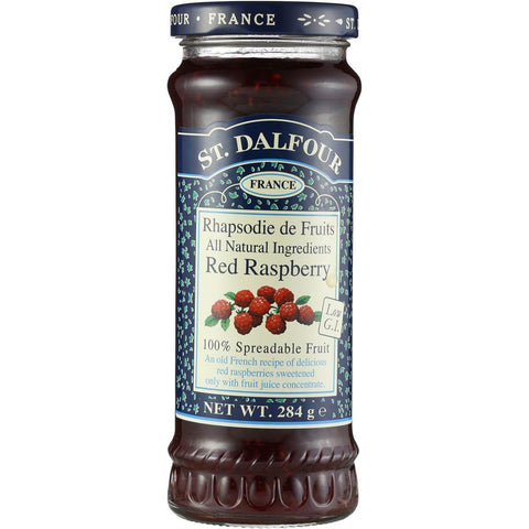 St. Dalfour Red Raspberry Fruit Spread 284g