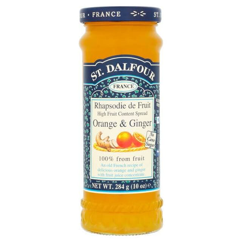 St. Dalfour Ginger and Orange Marmalade 284g