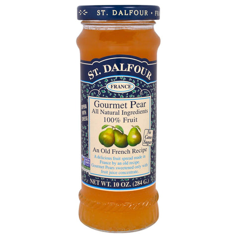 St. Dalfour Gourmet Pear Fruit Spread 284g