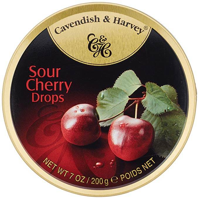 Cavendish and Harvey Sour Cherry Fruit Drops 150g
