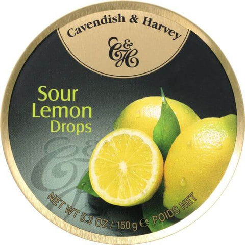Cavendish and Harvey Sour Lemon Fruit Drops 150g