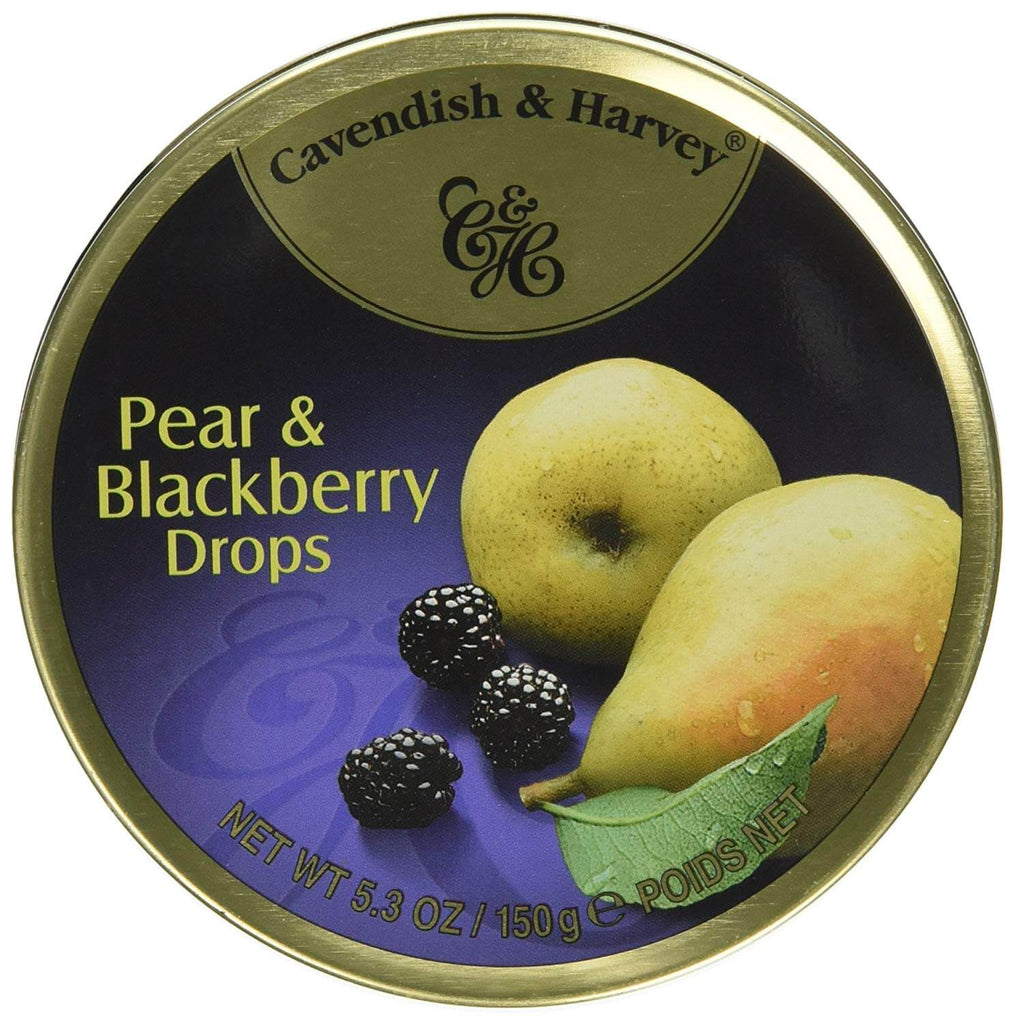 Cavendish and Harvey Pear and Blackberry Fruit Drops 150g