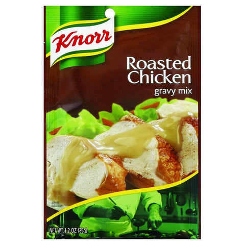 Knorr Roasted Chicken Flavoured Gravy Mix with other Natural Flavour 35g