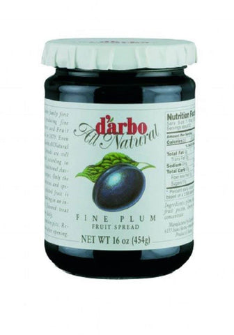 D Arbo Fruit Spread - Plum Fine 454g