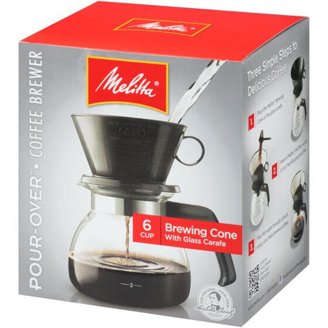 Melitta Traditional Cone Coffeemaker (6 Cup) 551g
