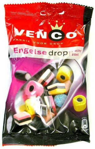 Venco English Liquorice Allsorts 127g