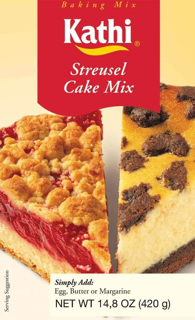 Kathi German Streusel Cake Mix 420g