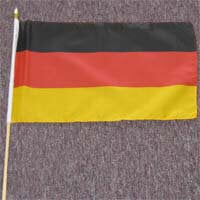 "International Brands Flag Germany 12"" x 18"" 50g"