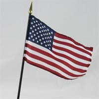 "International Brands Flag United States of America 4"" x 6"" 30g"