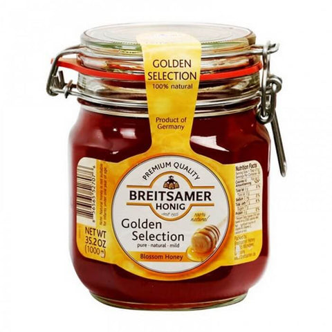 Breitsamer Honig Golden Selection Honey Mason Jar 1Kg