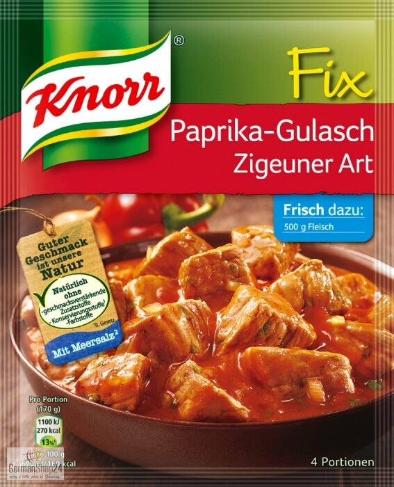 Knorr Fix Paprika Goulash Seasonings 52g