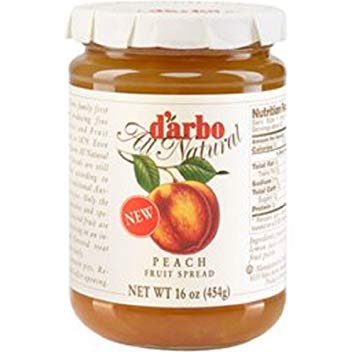 D Arbo Fruit Spread - Peach  454g