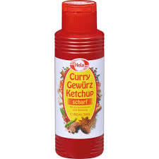 Hela Hot Curry Ketchup 348g