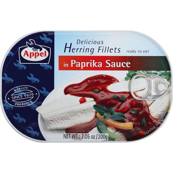 Appel Herring Fillets in Paprika Sauce 200g