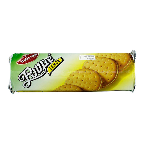 Hellema Fourre Lemon Sandwich Biscuits 300g