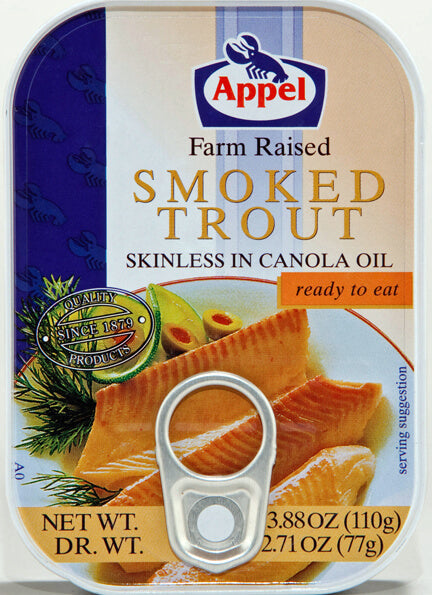 Appel Smoked Trout 110g