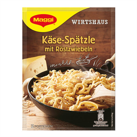 Maggi German Cheese Spaetzle with Roasted Onions 119g
