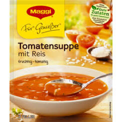 Maggi Tomato Soup with Rice 80g