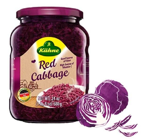 Kuehne Red Cabbage 680g