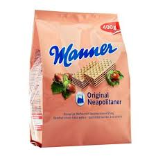Manner Wafers - Hazelnut Dark Chocolate 400g