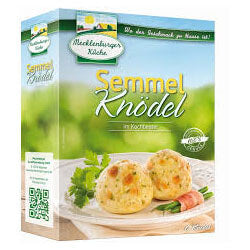 Mecklenburger Knoedel-Classic Bread Dumplings In Cooking Bags (Pack of 6) 200g