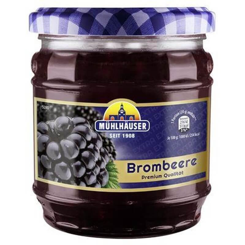 Muehlhauser Blackberry (Brombeere) Spread 450g