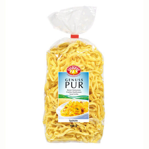 3 Glocken Spaetzle Made with Pure Durum Wheat and Spring Water 500g