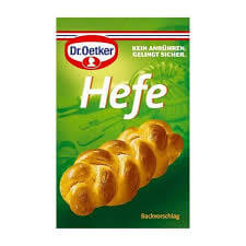 Dr Oetker Yeast Sachets (Pack of 4) 28g