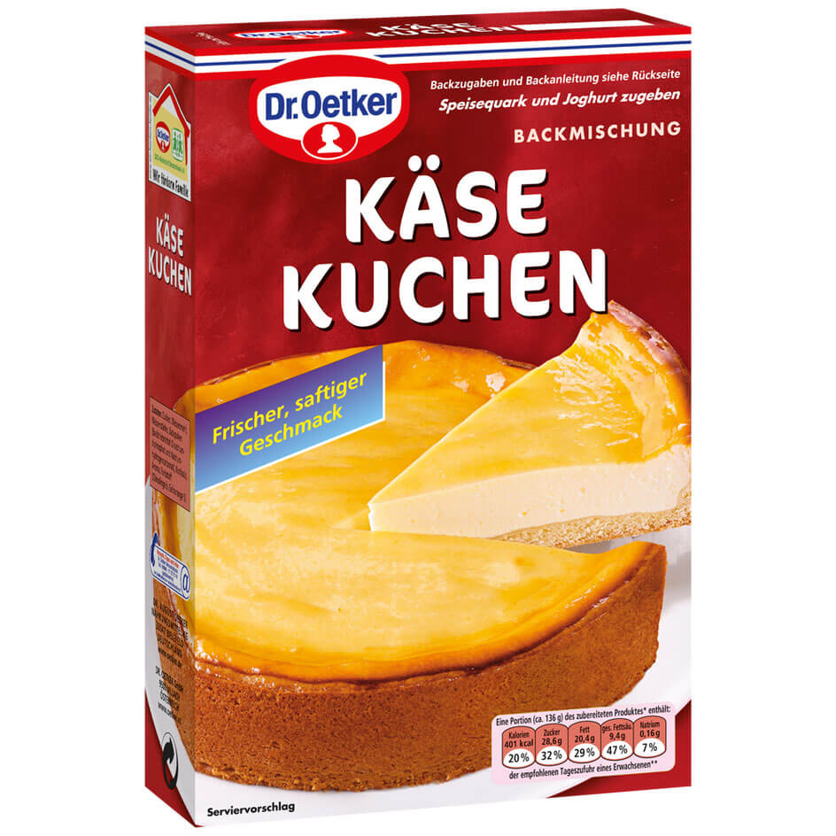 Dr Oetker Cheese Cake Bake Mix 570g