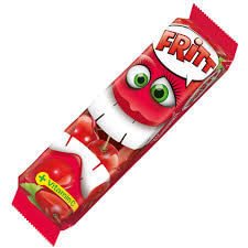 Fritt Chewy Candy Strips Cherry Flavour (Pack of 6) 70g